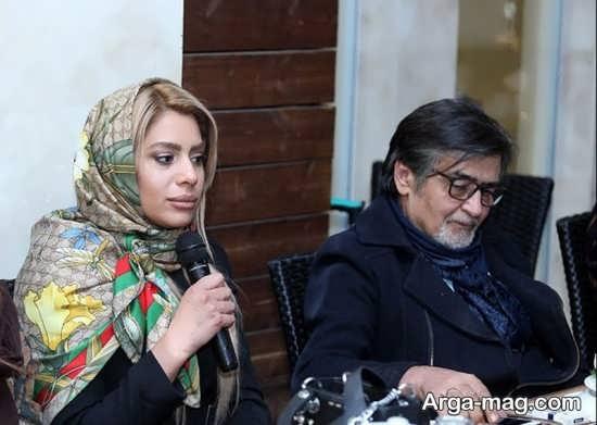 عکس صمیمانه رضا رویگری و نسرین مقانلو