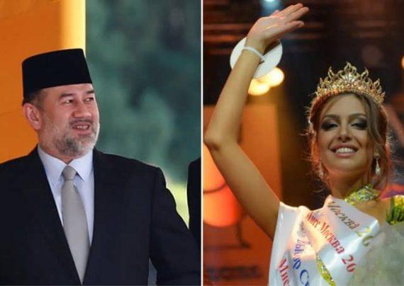 ازدواج دختر شایسته روسیه با پادشاه مالزی