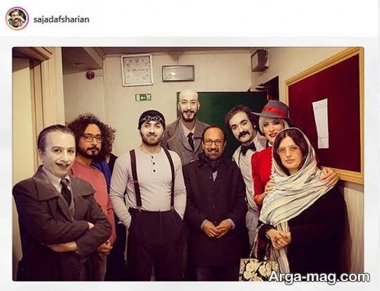 عکس متفاوت سجاد افشاریان با اصغر فرهادی و همسرش