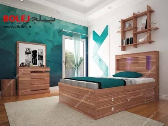طراحی عالی تخت خواب دو نفره
