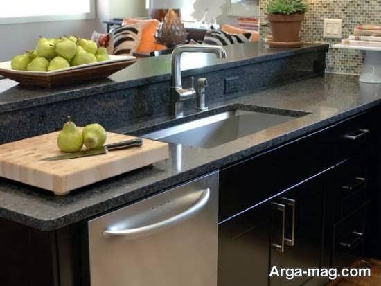 طراحی جدید و شیک سینک ظرفشویی