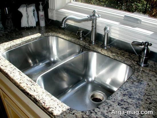دیزاین مدرن سینک ظرفشویی