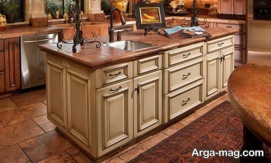 طراحی شیک سینک ظرفشویی