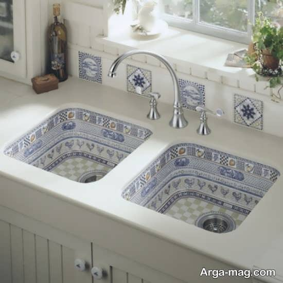 مدل سرامیکی سینک ظرفشویی