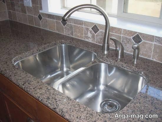 مدل زیبای سینک ظرفشویی