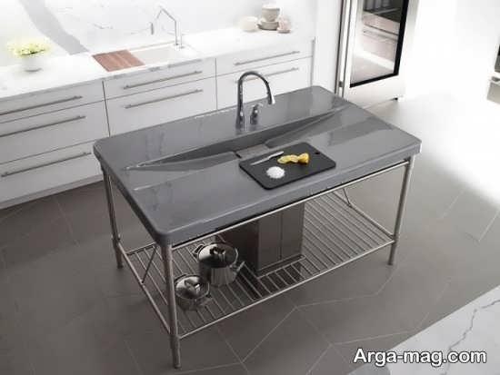 طرح زیبا و جدید سینک ظرفشویی
