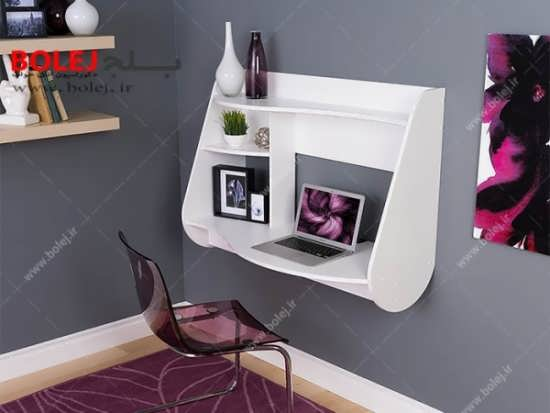 نوع دیواری میز تحریر