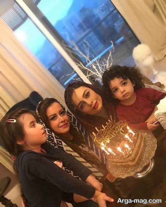 جشن تولد یکتا ناصر در کنار دخترش
