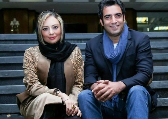 تبریک عاشقانه منوچهر هادی به همسرش