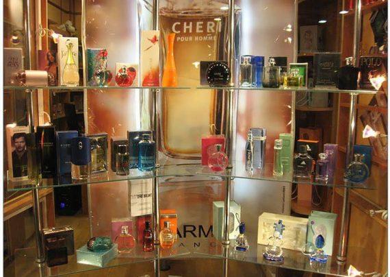 دکوراسیون فروشگاه عطر