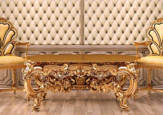 مدل مبلمان طلایی