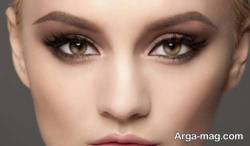 مدل آرایش چشم لایت