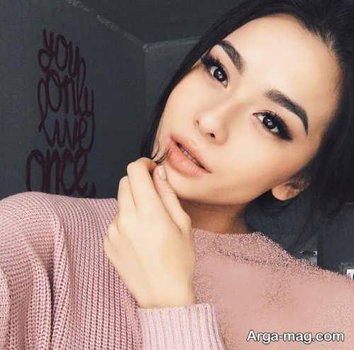 مدل آرایش زیبا و شیک برای چشم بادامی