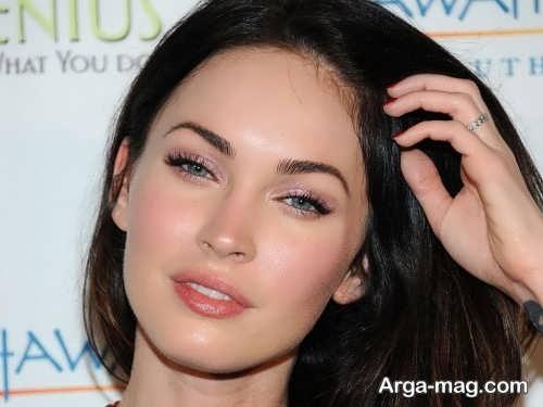 مدل آرایش ساده مخصوص چشم بادامی