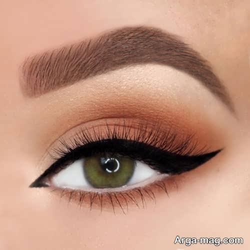 آرایش چشم بادامی زیبا