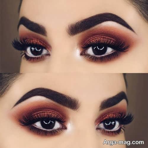 آرایش زیبا و جالب چشم بادامی