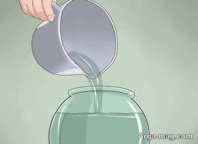 اضافه کردن آب به تراریوم