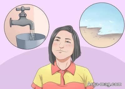 نحوه ساختن تراریوم تزیینی آبی