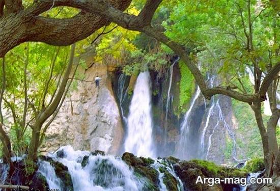 آبشار چهار محال بختیاری