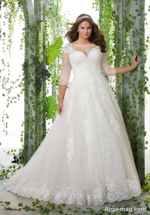 لباس عروس جدید و سایز بزرگ