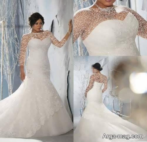 مدل لباس عروس بزرگ