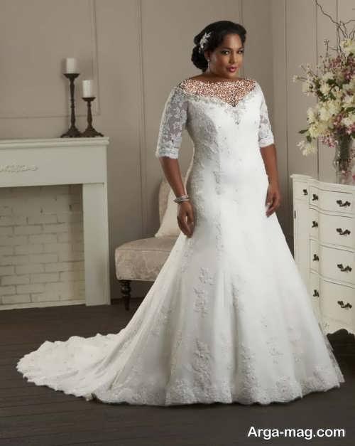 مدل پیراهن عروس زیبا و جذاب