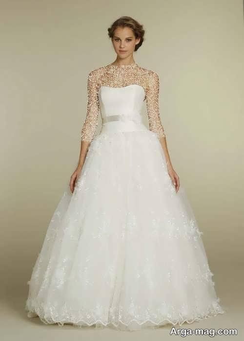 مدل لباس عروس زیبا و جالب