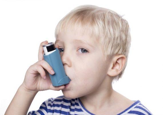درمان آسم در کودکان