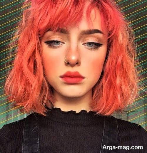 مدل رنگ مو در سال 98