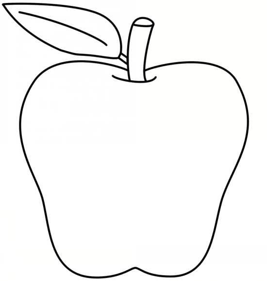 نقاشی سیب