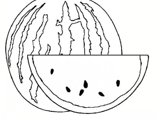 نقاشی هندوانه