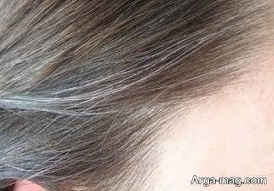ضخیم بودن تار مو از عوامل تاثیر گذار در رنگ نگرفتن مو