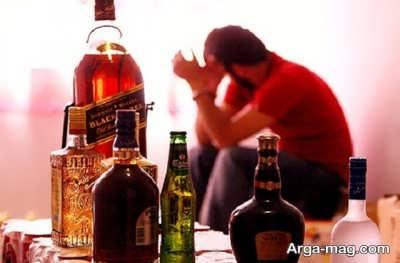 عوارض شایع مصرف الکل