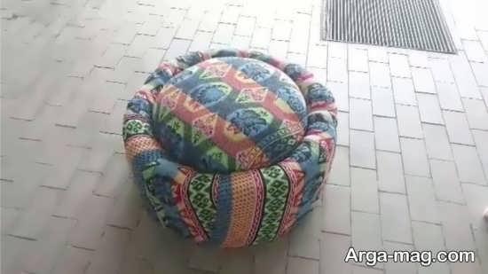 ساخت مبلمان با تایر