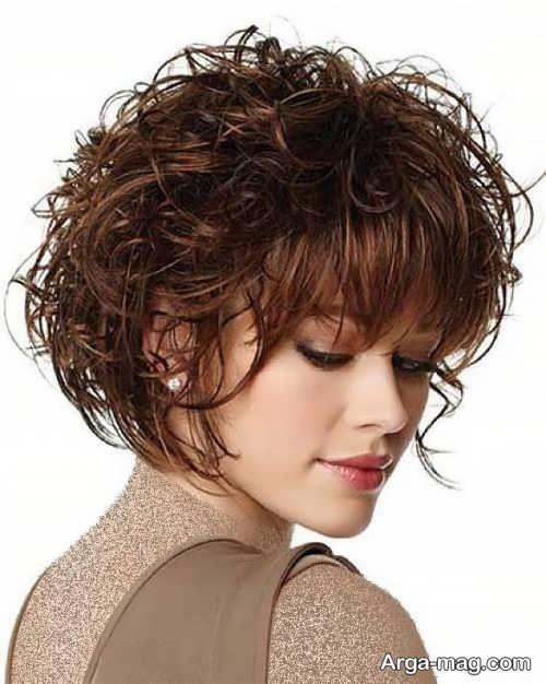 مدل موی زنانه فر