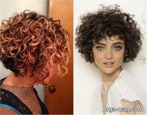 مدل موی زنانه و دخترانه فر