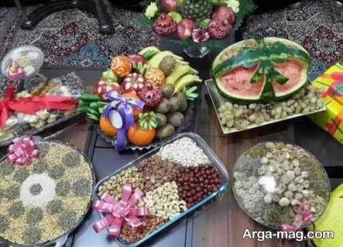 قشنگ ترین تزیین هدایای شب یلدا