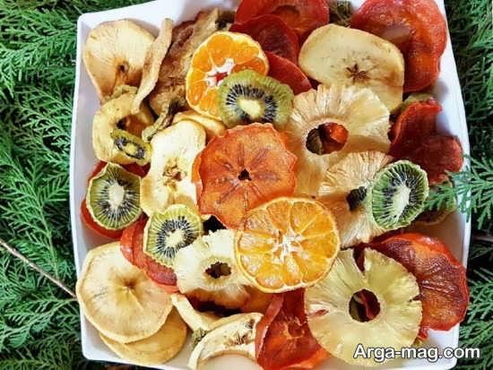 ایده های جدید و جذاب برای تزیین میوه خشک شده