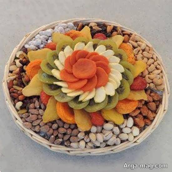 ایده های جذاب برای تزیینات میوه خشک شده شب یلدا