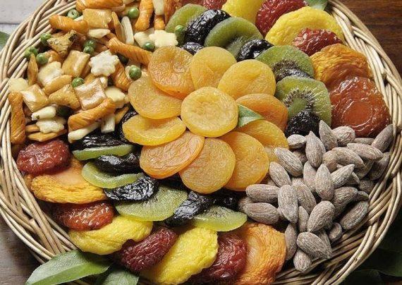 تزیین میوه خشک شب یلدا