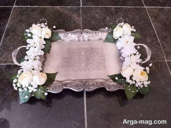 تزیین سینی چای مراسم عروسی