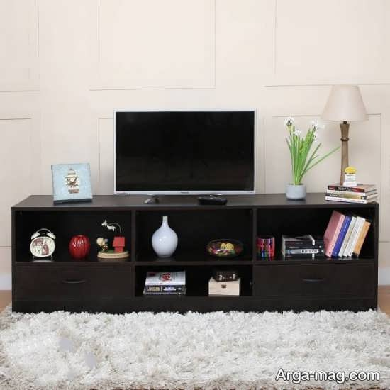 تزیین و طراحی میز تلویزیون