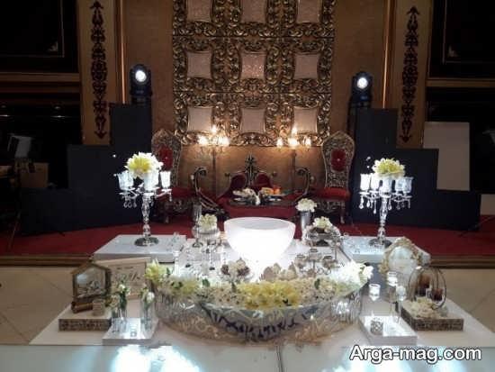 تزئین متفاوت میز نامزدی
