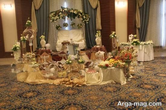 تزئین شیک میز نامزدی