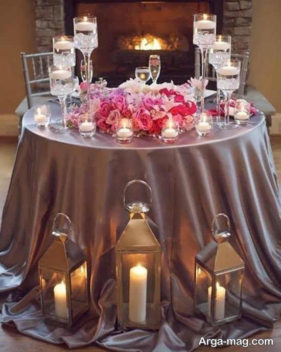 دیزاین شیک میز نامزدی