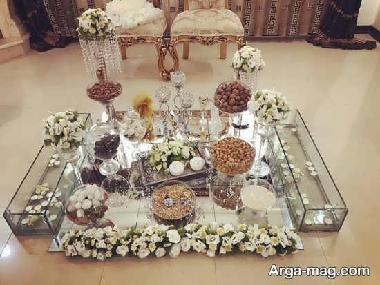 تزیین میز نامزدی