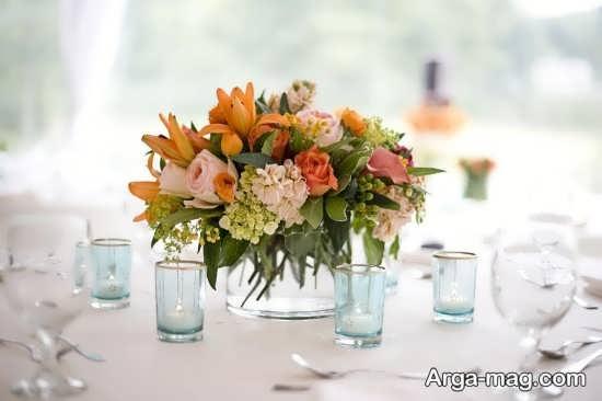 تزیین متفاوت میز نامزدی