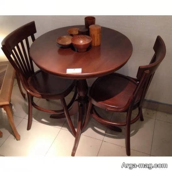 مدل میز ناهارخوری دونفره