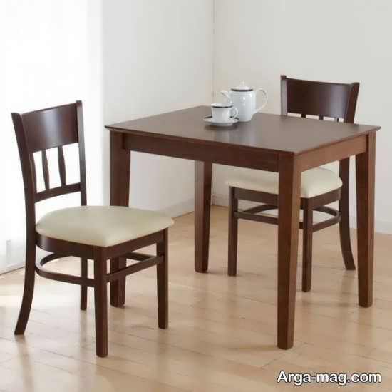 دیزاین میز ناهارخوری دونفره