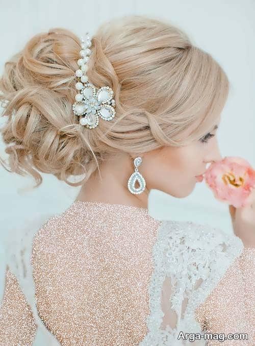 مدل موی بسته و زیبا برای عروس